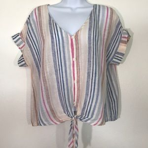 Anthropology Cloth & Stone. Ladies Size Medium Top